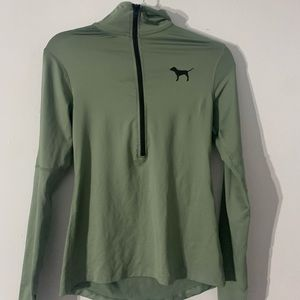 VSPINK Army Green Half Zip Up Size Small